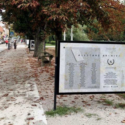 Bienale neodvisnih Krakovski nasip razstava Allstars