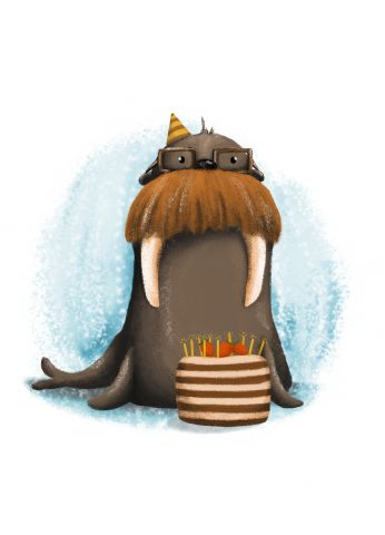 Gospod Mrož rojstnodnevnež