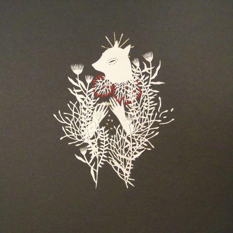 Ikona II, papercutting